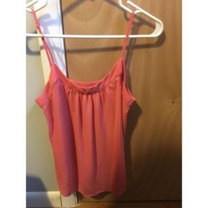 Coral tank top from Loft